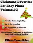 Image for Christmas Favorites for Easy Piano Volume 2 G