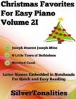 Image for Christmas Favorites for Easy Piano Volume 2 I