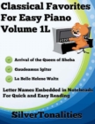 Image for Classical Favorites for Easy Piano Volume 1 L