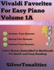 Image for Vivaldi Favorites for Easy Piano Volume 1 A