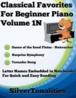 Image for Classical Favorites for Beginner Piano Volume 1 N