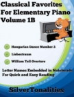 Image for Classical Favorites for Elementary Piano Volume 1 B