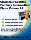 Image for Classical Favorites for Easy Intermediate Piano Volume 1 A