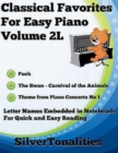 Image for Classical Favorites for Easy Piano Volume 2 L