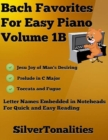 Image for Bach Favorites for Easy Piano Volume 1 B