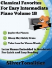 Image for Classical Favorites for Easy Intermediate Piano Volume 1 B