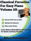 Image for Classical Favorites for Easy Piano Volume 2 O