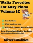 Image for Waltz Favorites for Easy Piano Volume 1 C