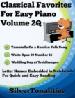 Image for Classical Favorites for Easy Piano Volume 2 Q