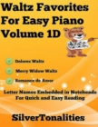 Image for Waltz Favorites for Easy Piano Volume 1 D