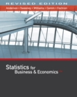 Image for Statistics for Business & Economics, Revised (with XLSTAT Education Edition Printed Access Card)