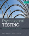 Image for Psychological Testing : Principles, Applications, and Issues