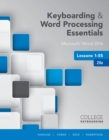 Image for Keyboarding and word processing essentialsLessons 1-55