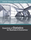 Image for Essentials of Statistics for Business and Economics (with XLSTAT Printed Access Card)