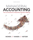Image for Cornerstones of managerial accounting