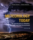 Image for Meteorology today  : an introduction to weather, climate and the environment
