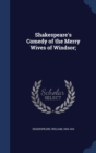 Image for Shakespeare's Comedy of the Merry Wives of Windsor;
