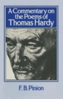 Image for A Commentary on the Poems of Thomas Hardy