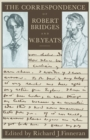 Image for The Correspondence of Robert Bridges and W.b. Yeats