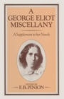 Image for A George Eliot Miscellany : A Supplement to her Novels