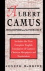 Image for Albert Camus : Philosopher and Littrateur