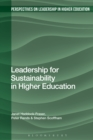 Image for Leadership for sustainability in higher education