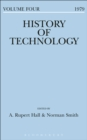 Image for History of Technology Volume 4