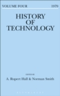 Image for History of Technology. : Volume 4