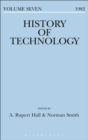 Image for History of Technology Volume 7