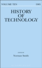 Image for History of Technology Volume 10