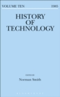 Image for History of technology. : Volume 10