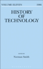 Image for History of technology. : Volume 11, 1986