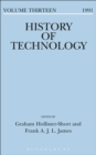 Image for History of Technology Volume 13