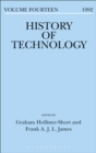 Image for History of technology. : Volume 14, 1992