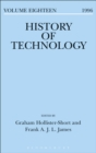 Image for History of technology. : Volume 18, 1996