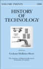 Image for History of technology. : Vol. 20
