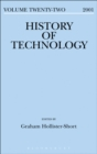 Image for History of technology. : Volume 22, 2000