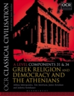 Image for OCR classical civilisationA level components 31 and 34,: Greek religion and democracy and the Athenians