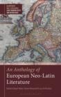 Image for An anthology of European neo-Latin literature