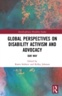 Image for Global Perspectives on Disability Activism and Advocacy: Our Way