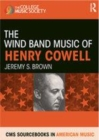Image for The wind band music of Henry Cowell