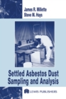 Image for Settled asbestos dust sampling and analysis