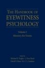 Image for Handbook of eyewitness psychology.: (Memory for events) : Volume 1,