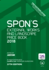 Image for Spon's External Works and Landscape Price Book 2018