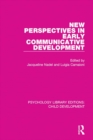 Image for New perspectives in early communicative development : 8