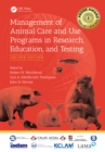 Image for Management of animal care and use programs in research, education, and testing