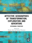 Image for Affective geographies of transformation, exploration and adventure