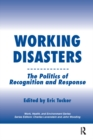Image for Working disasters: the politics of recognition and response