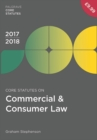 Image for Core statutes on commercial & consumer law 2017-18