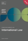 Image for Core documents on international law 2017/18